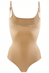 The Magic Body saumaton muotoileva body beige-thumb