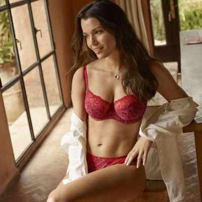 Jasmine Soft Balconnet -rintaliivit Berry Burst