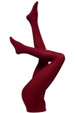 Dublin-sukkahousut kirsikanpunainen 60 den