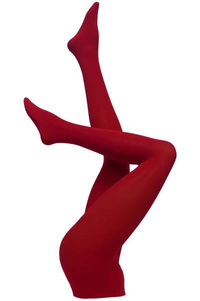 Dublin-sukkahousut kirkkaanpunainen 60 den