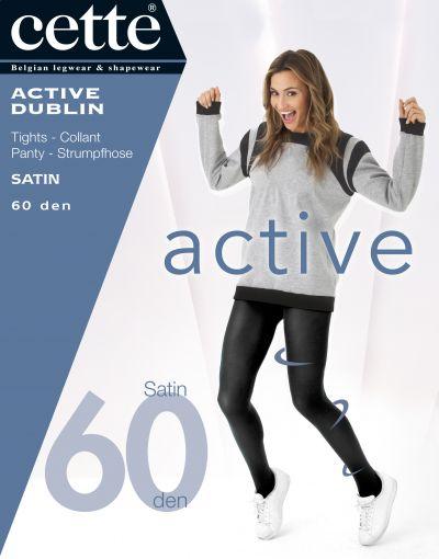 Dublin Active-tukisukkahousut sinimusta 60 den