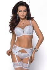Abigail-balconette-rintaliivit valkoinen