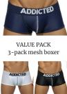 Mesh bokserit push up 3-pack-thumb