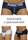 Mesh brief push up 3-pack-thumb