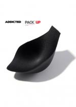 Pack Up -täyte Addicted alus-ja uimahousuille, musta