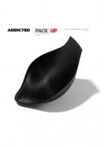 Pack Up with Push Up -täyte Addicted alushousuille, musta