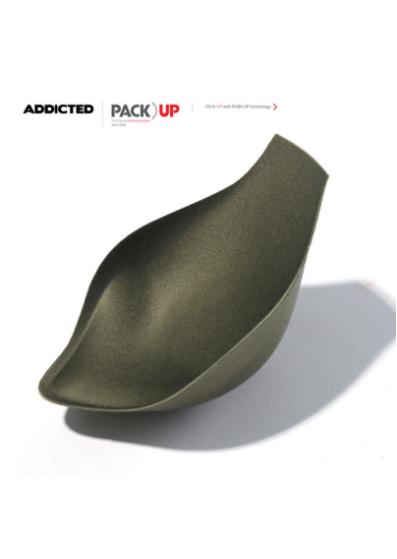 Addicted Pack Up with Push Up -täyte Addicted alushousuille, khaki  100% Polyesteri S-2XL AC005