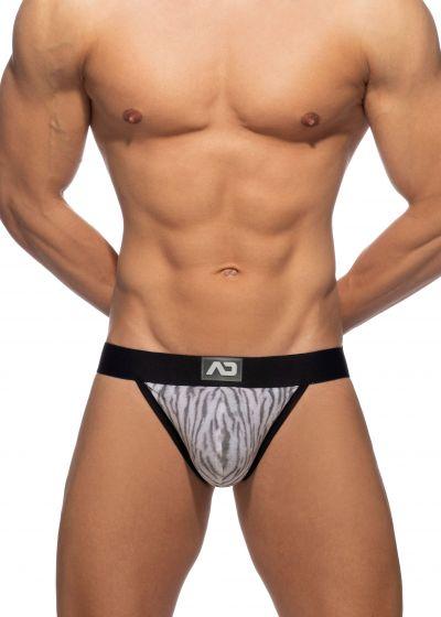 Addicted Tiger print bikini brief harmaa Bikini brief 80% Polyamidi, 10% Viskoosi, 10% Elastaani S-3XL AD974