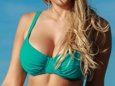Plaisir Lingerie Amalfi-bikiniliivit petroolinvihreä Kaarituettu, toppaamaton bikiniliivi 80-100, D-H T0027