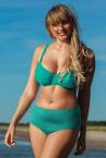 Plaisir Lingerie Amalfi-bikiniliivit petroolinvihreä-thumb Kaarituettu, toppaamaton bikiniliivi 80-100, D-H T0027