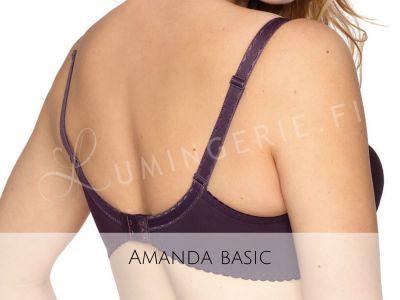 Amanda Semi Soft -rintaliivit violetti