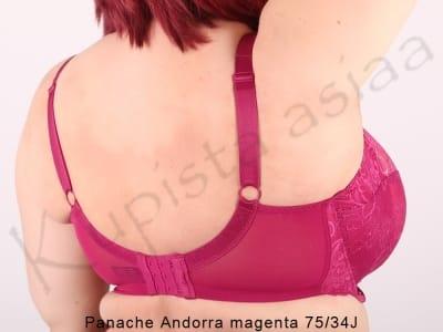 Andorra-rintaliivit magenta