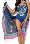 Ava Swimwear Anemone-pareo sinikukka-thumb Yhden koon pareo - 130 cm x 160 cm One size PAR-1-ANE