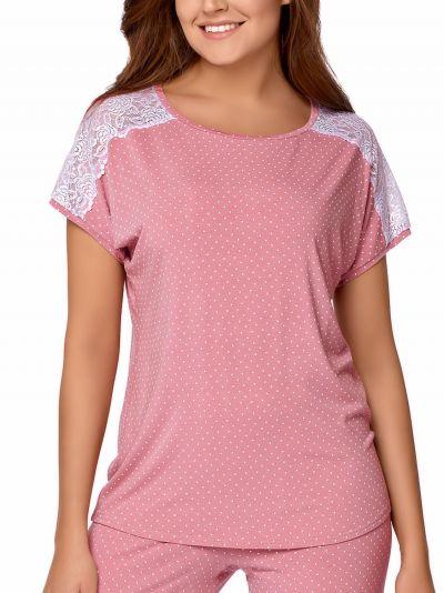 Anna-pyjama 2-osainen roosa