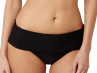 Anya-bikinihousut taittoreunalla musta-thumb