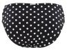 Panache Swimwear Anya Spot Gather Pant -bikinihousut musta-valkoinen-thumb  34-46 SW1019