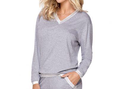 Hamana Argo 2-osainen pyjamasetti / oloasu harmaa-hopea  S-2XL