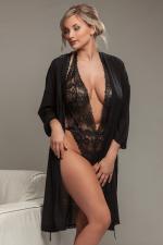Aura-kimono musta