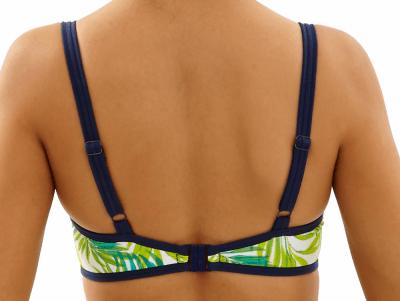 Avril-bikiniliivit palmunlehtiprintti