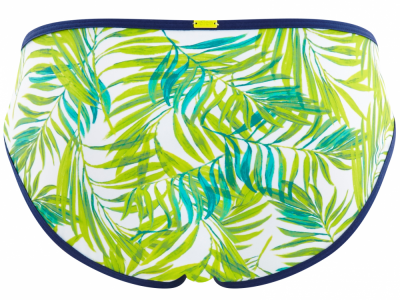 Avril-bikinihousut palmunlehtiprintti