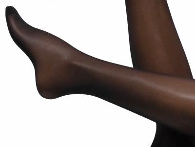 Bali-sukat silikonittomat musta 20 den