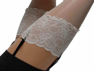 Bali-sukat silikonittomat off-white 20 den