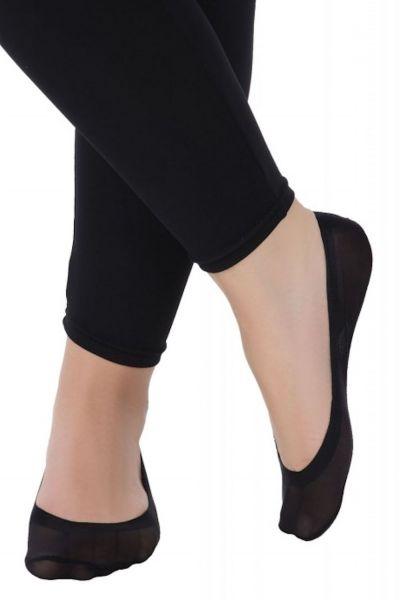 Ballerinasukat musta 1 pr