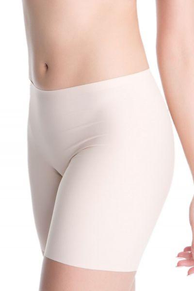 Julimex Lingerie Bermuda Comfort Panty lahkeelliset alushousut beige Normaalivyötäröiset lahkeelliset lähes saumattomat alushousut S-3XL