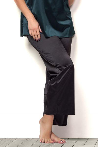 Plaisir Lingerie Boudoir Trouser -pyjamahousut musta  42/44 - 54/56 2048