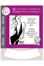 Braza Clothing Adhesives -vaateteippiliuskat 40 kpl
