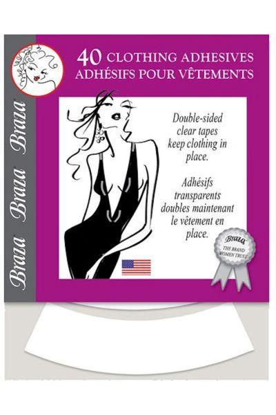 Braza Braza Clothing Adhesives -vaateteippiliuskat 40 kpl   1007-26