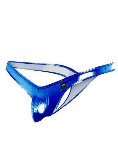 Cut4Men - C4M C4MPE02 Pouch enhanching stringit skai sininen String 80% Polyamidi, 20% Spandex Lycra S-XL C4MPE02_blue