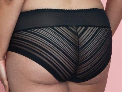 Caprice-alushousut musta