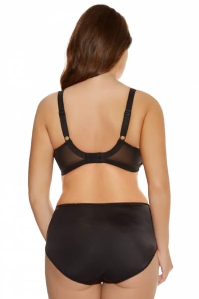 Carmen-alushousut musta