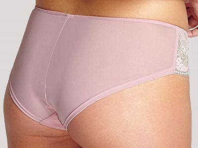 Panache Clara-alushousut roosa-shampanja Pitsi- ja meshalushousut Clara-sarjaan 36-46 7253-PI-CH