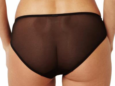 Clara-alushousut hiilenharmaa-musta