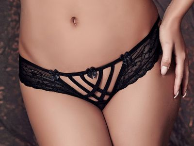 Anaïs Connie-alushousut musta