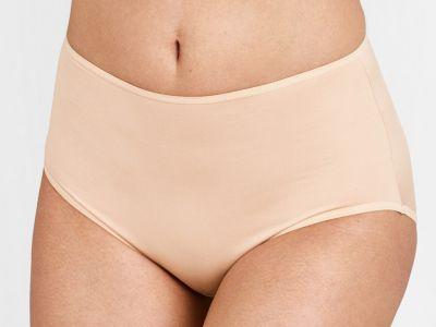 Miss Mary Micro Cooling Maxi -alushousut beige Normaalikorkeat alushousut. M-3XL 7600-02