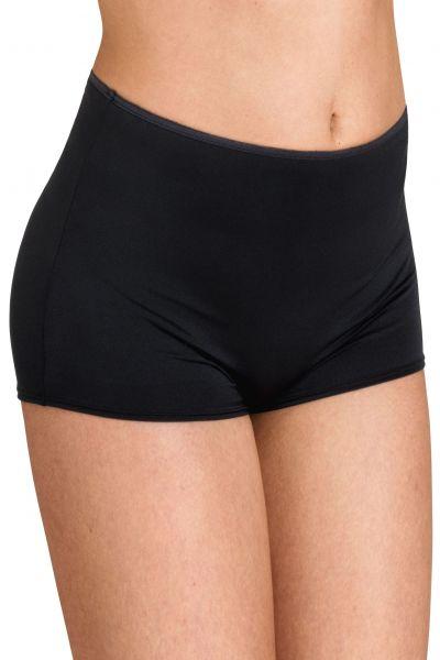 Miss Mary Micro Cooling Short -bokserihousut musta Normaalikorkeat shortsimalliset alushousut pienellä lahkeella. M-3XL 7610-06