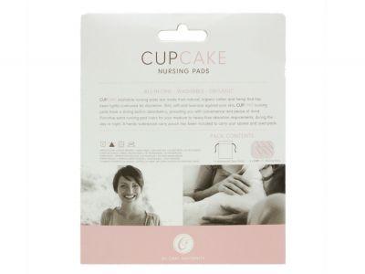 Cake Maternity Cupcake luomupuuvillaiset kestoliivinsuojat 3 paria + säilytyspussi Kestävät ja pestävät kestoliivinsuojat, pakkauksessa 3 paria + kosteussuojattu pussi  14-1038-09