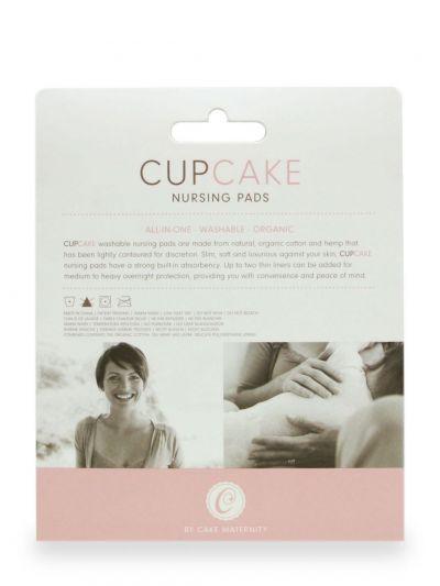 Cupcake luomupuuvillaiset kestoliivinsuojat 2 paria