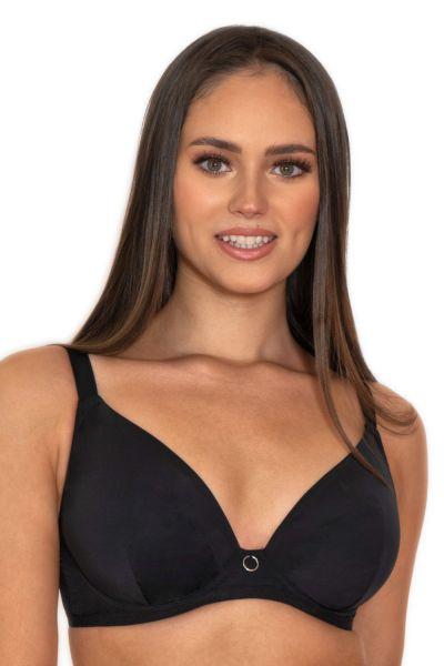 Curvy Kate Daily Plunge -rintaliivit musta Kaarituettu, toppaamaton syväänuurrettu liivi 65-85 E-L CK-038-101-BLK