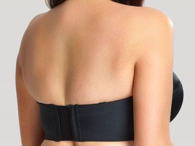 Dana olkaimettomat rintaliivit musta