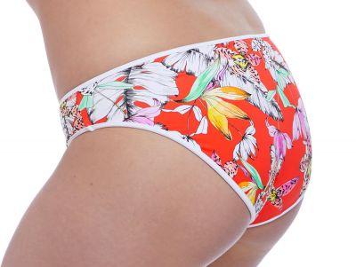 Deco Wild Flower -bikinihousut punakukka