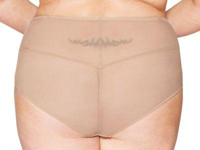 Delightfull korkeavyötäröiset alushousut latte