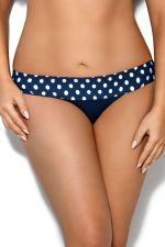 Dots-bikinihousut sininen palloprintti