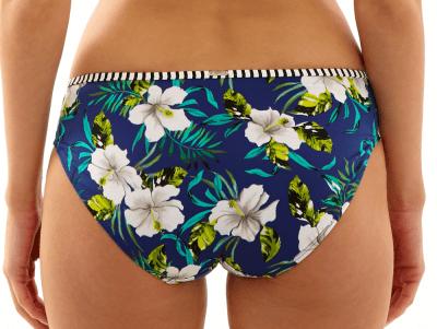 Elle-bikinihousut sinikukka