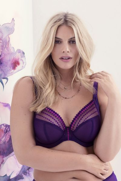 Matilda-rintaliivit violetti