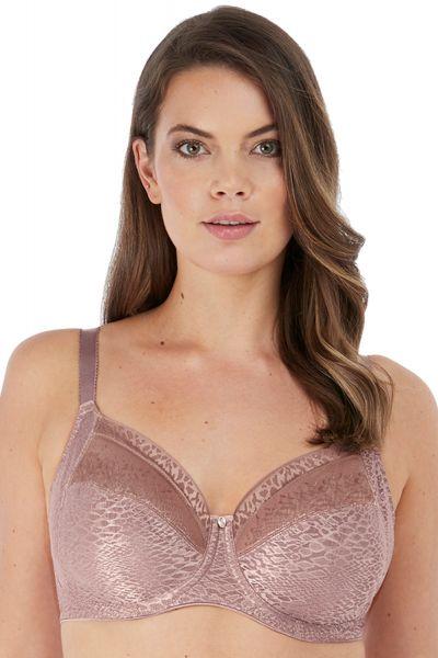 Fantasie Envisage Soft Side Support -rintaliivit Taupe Kokokuppinen, toppaamaton ja kaarituettu 65-90, D-L FL6911-TAE