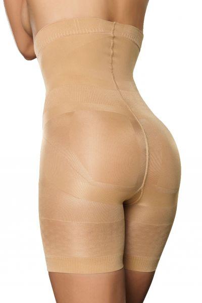 Evolution korkeavyötäröiset shaperhousut lahkeella ihonvärinen 140 den
